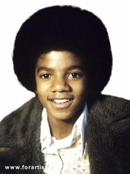...а на лобке - ваще ... типа как прича у молодого Майкла Джексона.