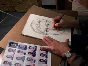 forensic artist video